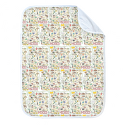 New Mexico Map Baby Blanket - PIMA