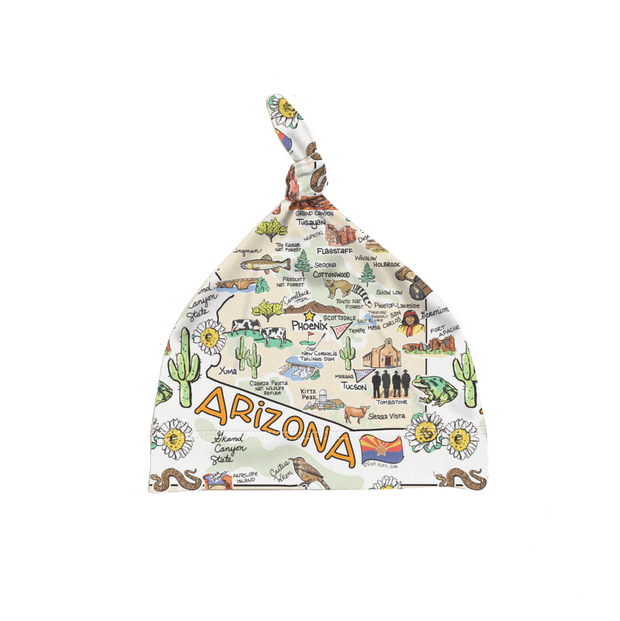 Arizona Map Baby Hat - PIMA
