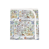 Colorado Map Baby Blanket - PIMA