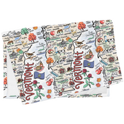 Vermont Map Tea Towel