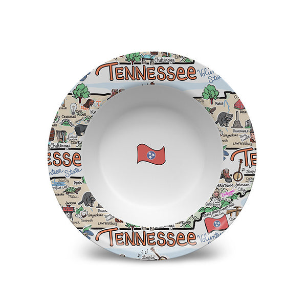 Tennessee Map Bowl