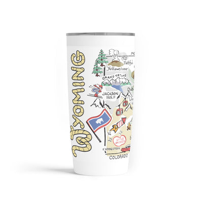 Wyoming 20 oz. Tumbler