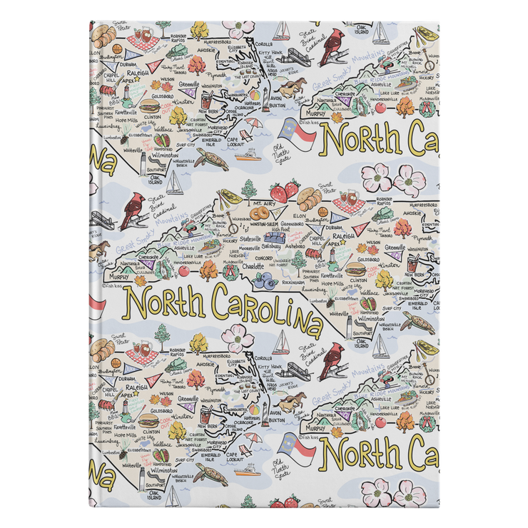 North Carolina Map Journal