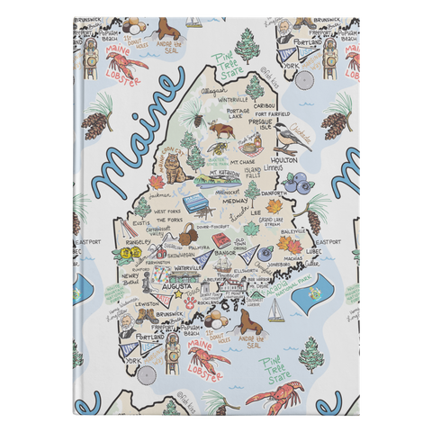 Maine Map Journal