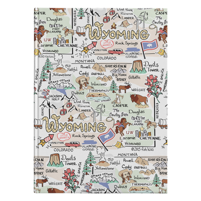 Wyoming Map Journal