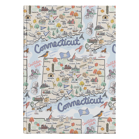 Connecticut Map Journal