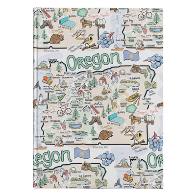 Oregon Map Journal