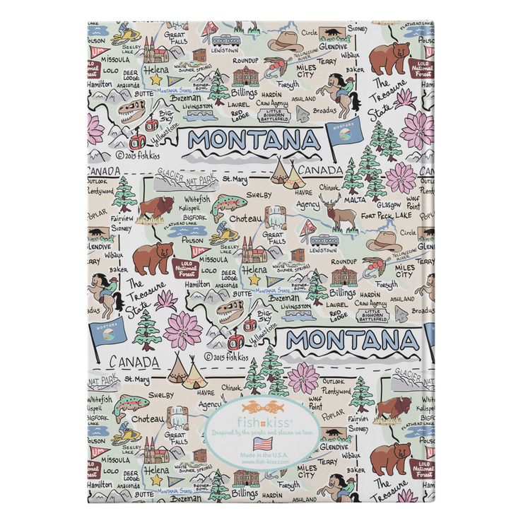 Montana Map Journal