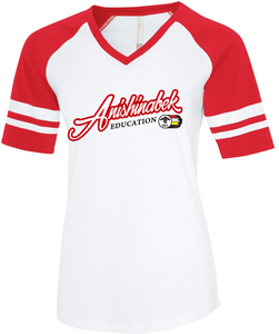 AEI Womens Ring Spun BaseBall T