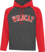 Load image into Gallery viewer, WILDCAT Twill front Colour Block Performance Hood