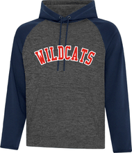 Load image into Gallery viewer, WILCATS Twill Front Colour Block Performance Hood