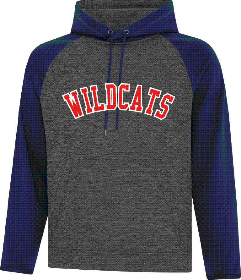 WILCATS Twill Front Colour Block Performance Hood