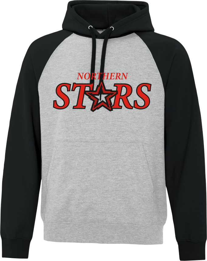 Northern Stars Colour Block Twill Front Hood