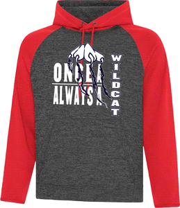 Once a Wildcat Colour Block Performance Hood