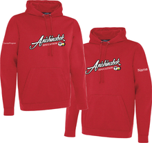 Load image into Gallery viewer, MENS AEI Twill Front Performance Hood With Name and Course/Program