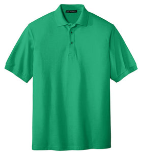 Clearance White Oak Court Green Polo