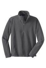 Load image into Gallery viewer, Clearance Fifth Ward 1/4 Zip Fleece Jacket, Grey
