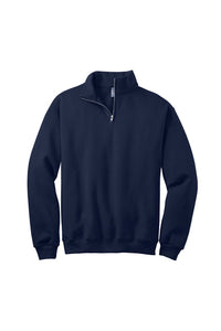Clearance White Oak 1/4-Zip Sweatshirt, Navy