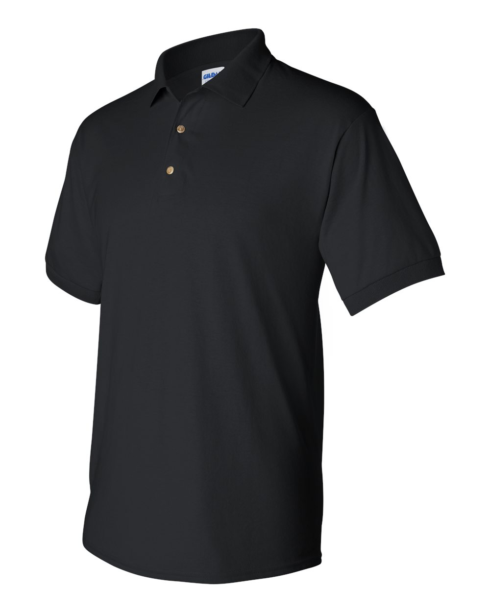 North Central Black Polo