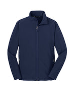 Load image into Gallery viewer, Clearance Southside Soft Shell Jacket, Navy