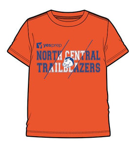 North Central Spirit Shirt, Orange