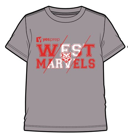 West Spirit Shirt, Storm Grey
