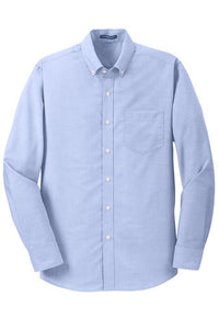 Clearance Brays Oaks Mens Button Down Shirt, Oxford Blue