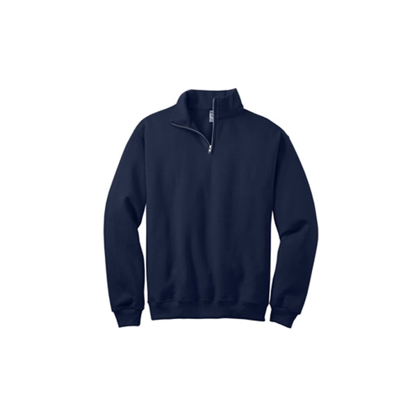 Universal 1/4-Zip Sweatshirt, All Campus Logo, Navy