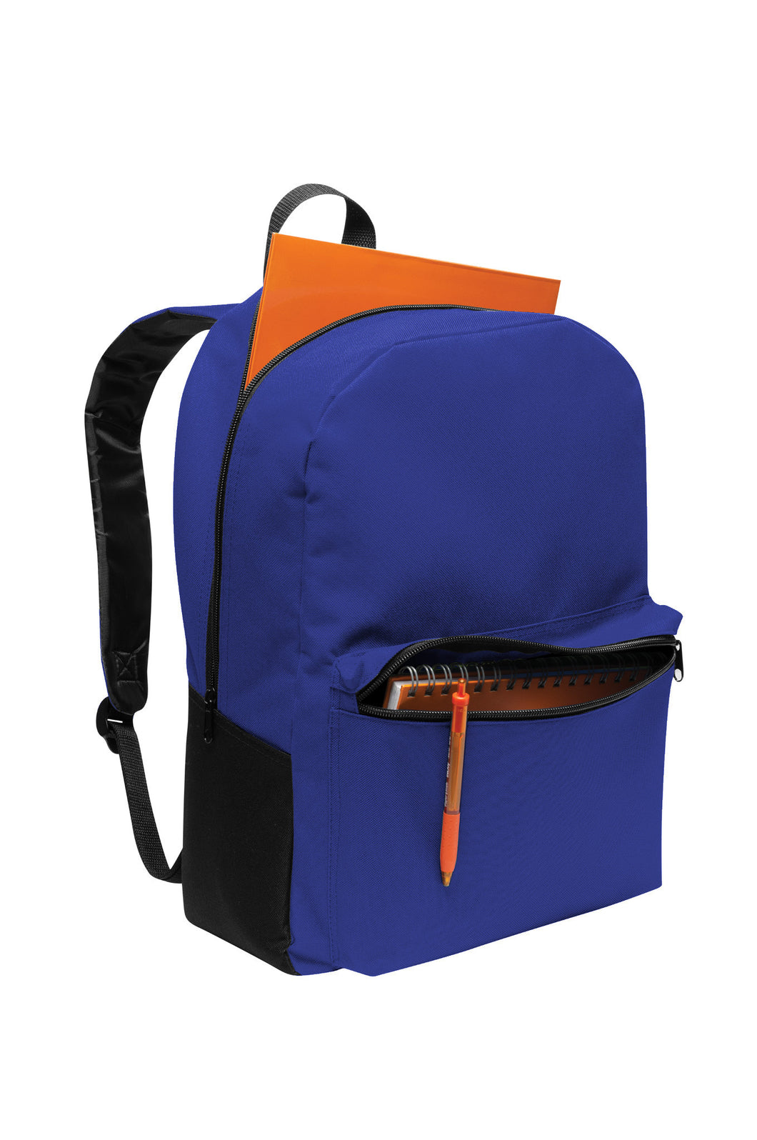 Universal Value Backpack, All Campus Logo, Blue