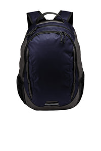 Universal Ridge Backpack, All Campus Logo, Navy & Charcoal
