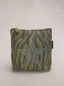 Love The Links, Green and Grey, Silver star bag
