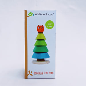 Tender Leaf Toys, Stacking Wooden Fir Tree