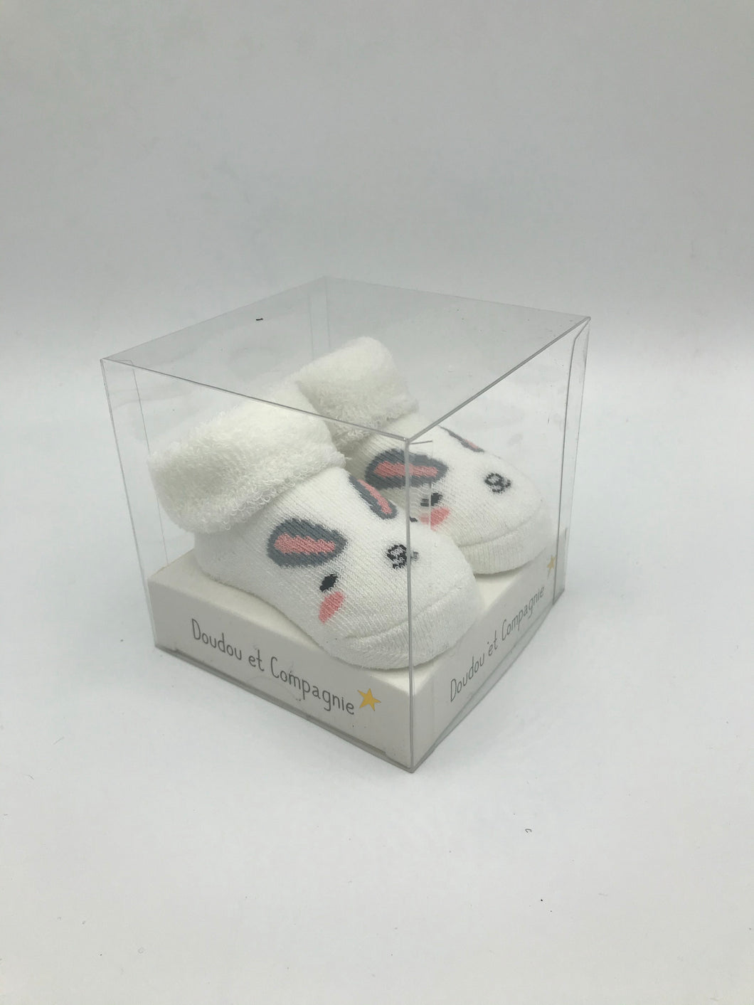 Doudou et Campagnie White Rabbit socks