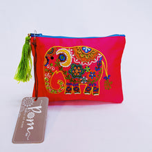 Load image into Gallery viewer, Pom, Hand Embroidered Elephant Purse