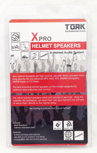 Tork Xpro Helmet Speakers