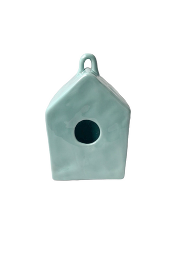 Teal Square Ceramic House