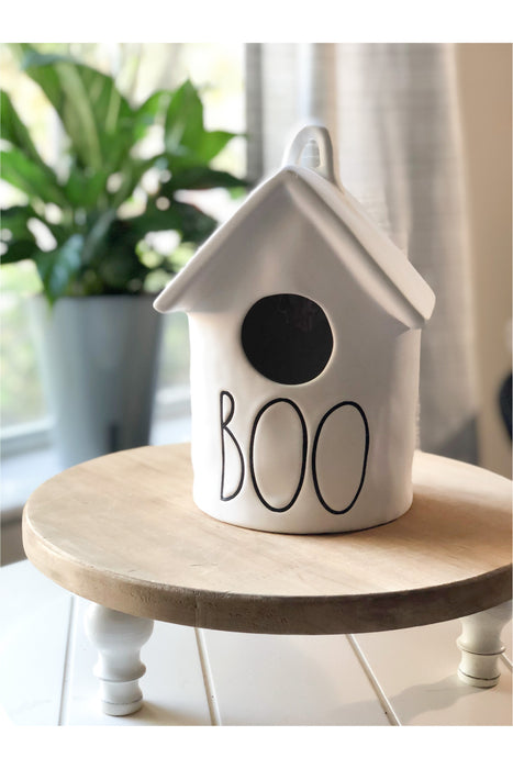 Roof Top Matte Ceramic Boo House