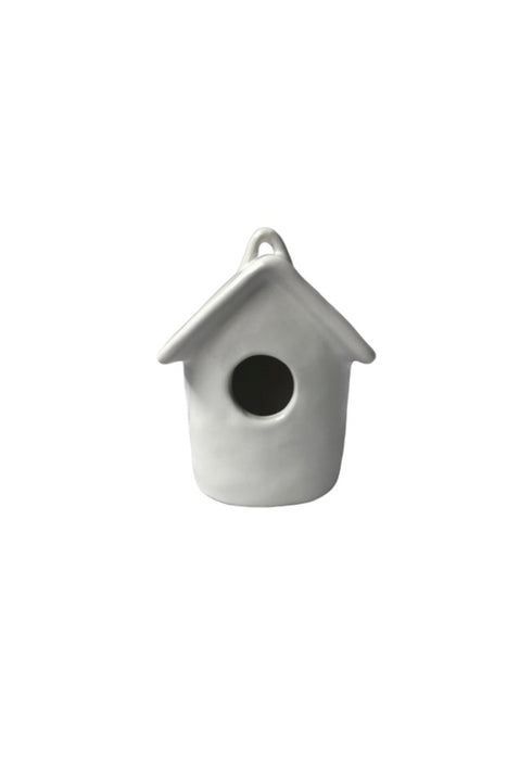 Mini Rooftop Ceramic Birdhouse