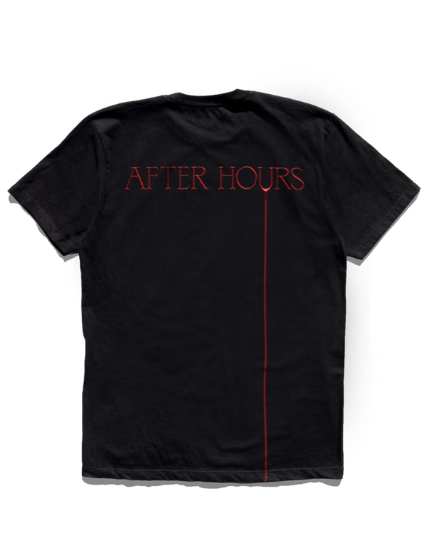 T-SHIRT | T-SHIRT NOIR AFTER HOURS THE WEEKND