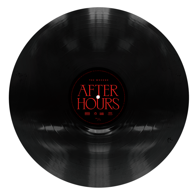 "VINYLE | THE WEEKND ""AFTER HOURS"""
