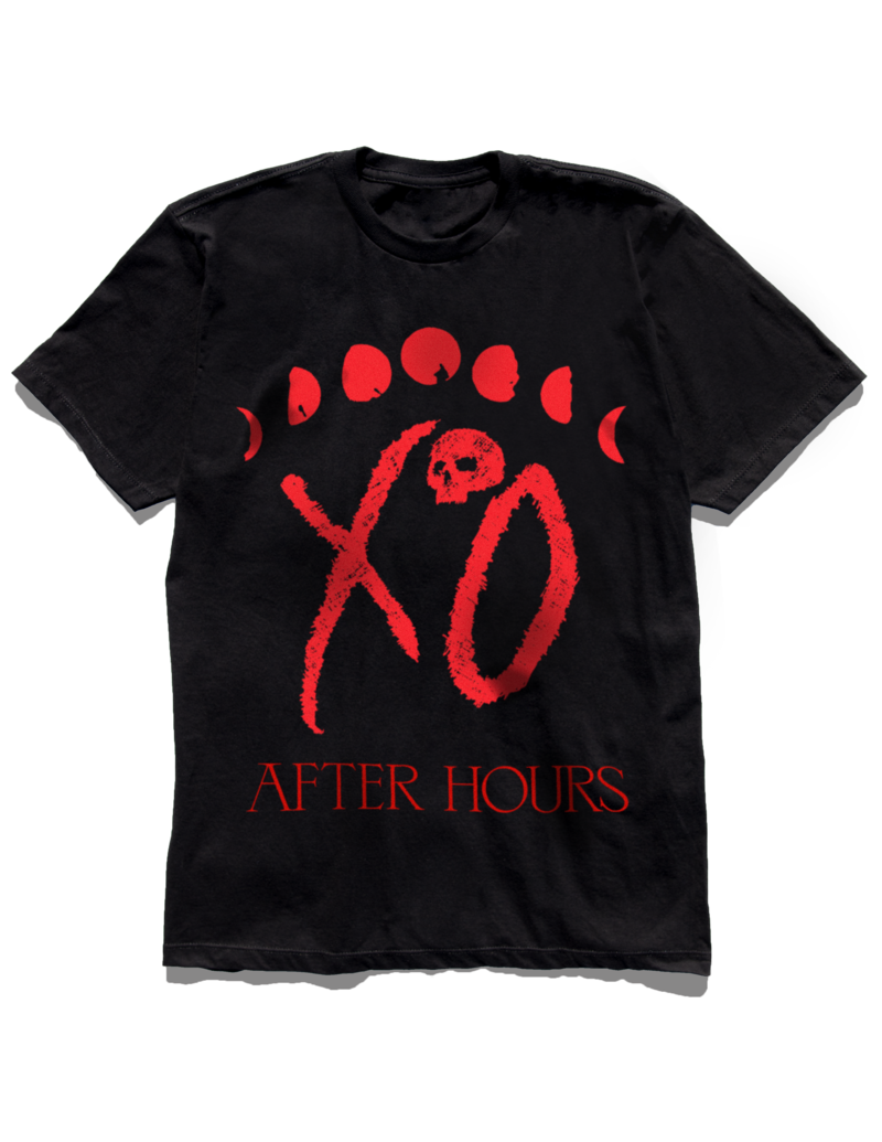 T-SHIRT | T-SHIRT NOIR XO THE WEEKND