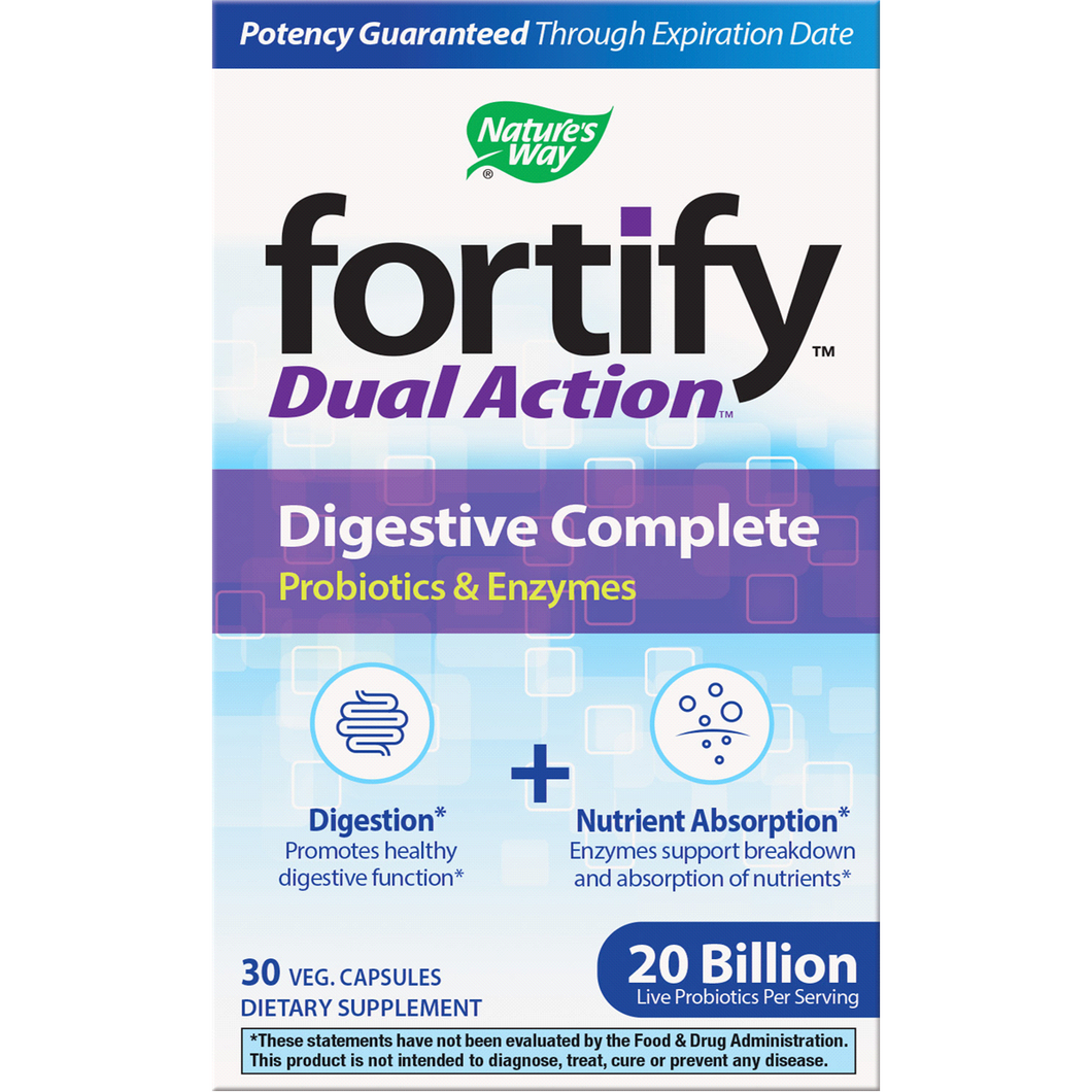 Fortify Dual Action Digest Complete 30vcaps