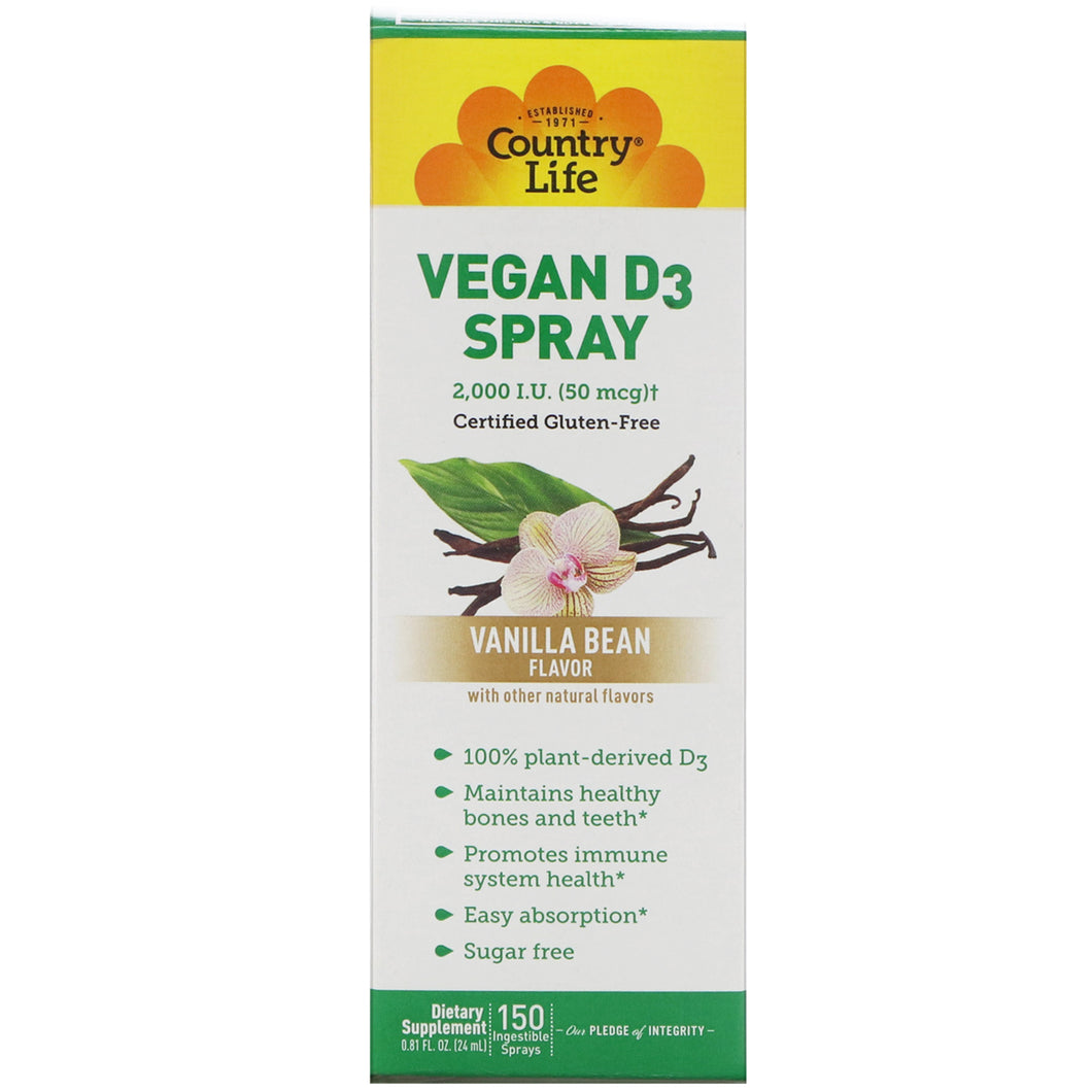 VEGAN D3 SPRAY 2000IU
