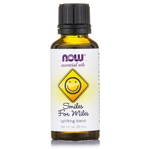 Now Foods, Essential Oils, Smiles for Miles, Uplifting Blend