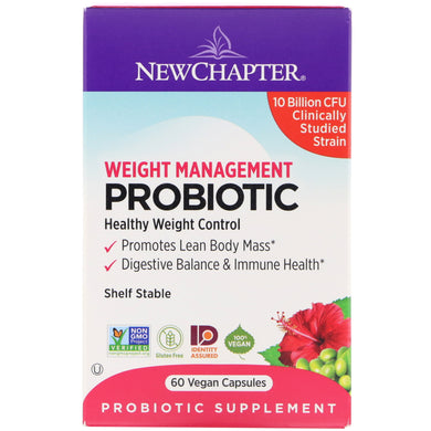 New Chapter weight Management probiotic