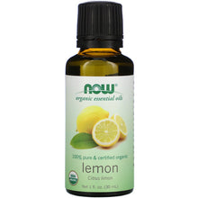 Load image into Gallery viewer, Now Foods, Organic Essential Oils, Lemon