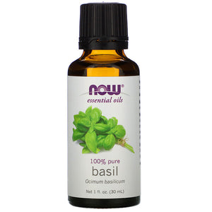 Now Foods, Essential Oils, Basil