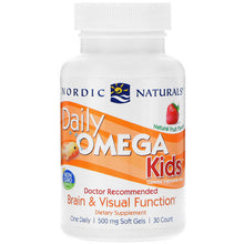 Load image into Gallery viewer, daily omega kids nordic naturals