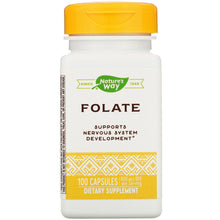 Load image into Gallery viewer, Folate 100 Capsules