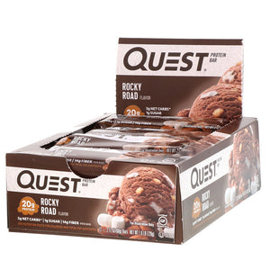 Quest Bar Full Box 12ct Rocky Road